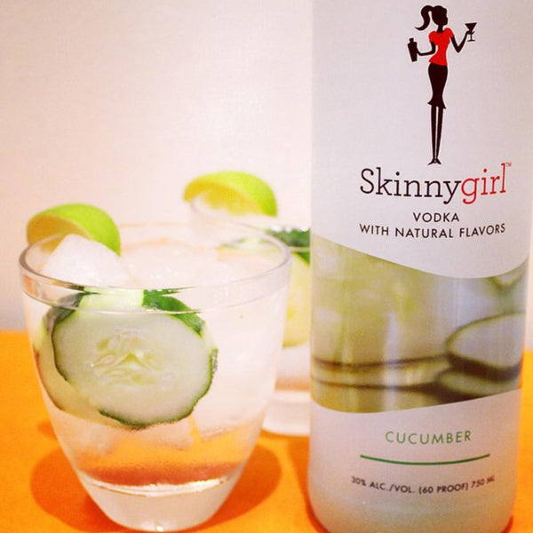 Skinnygirl Cucumber Vodka 750mL