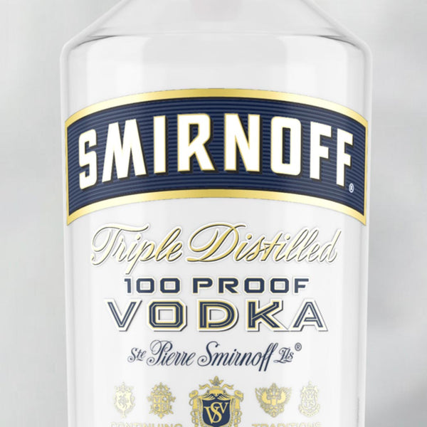 Smirnoff 100 Proof 750mL