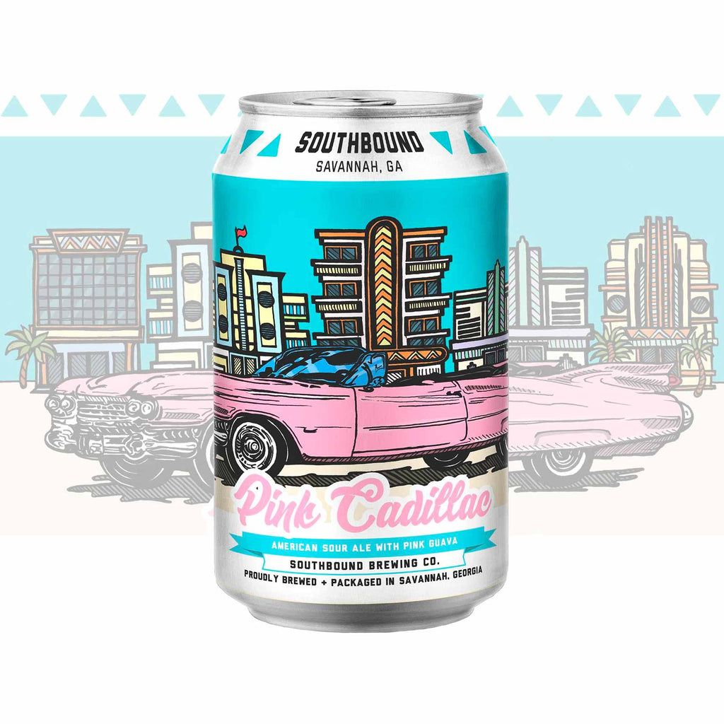 Southbound Cadillac American Sour with Guava 6pk