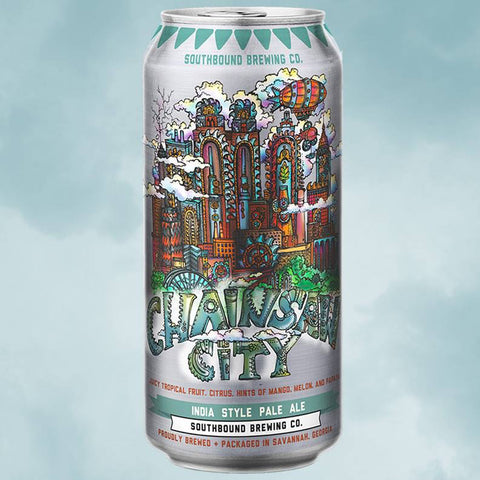 Southbound Chainsaw City 4pk Cans
