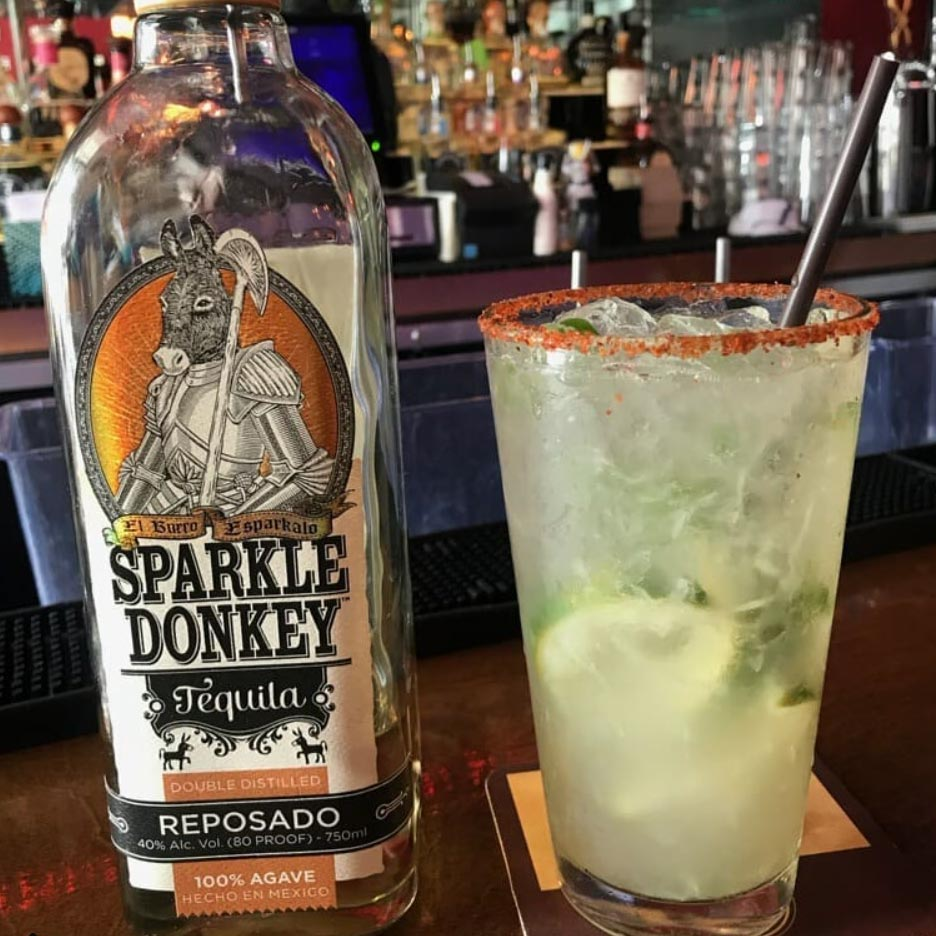 Sparkle Donkey Reposado Tequila 750mL