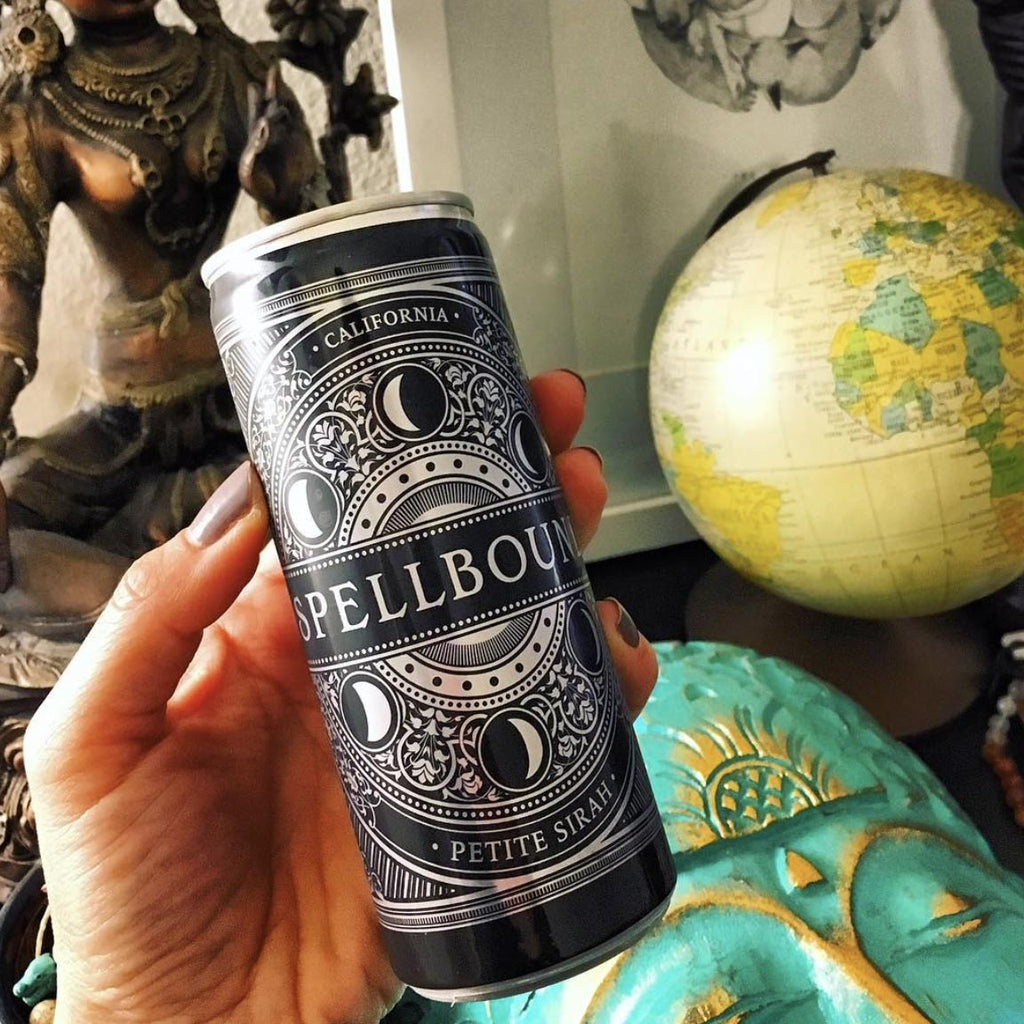 Spellbound Petite Sirah 4pk Cans