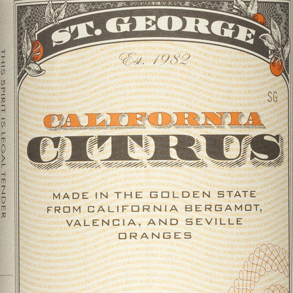 St. George California Citrus Vodka 750mL