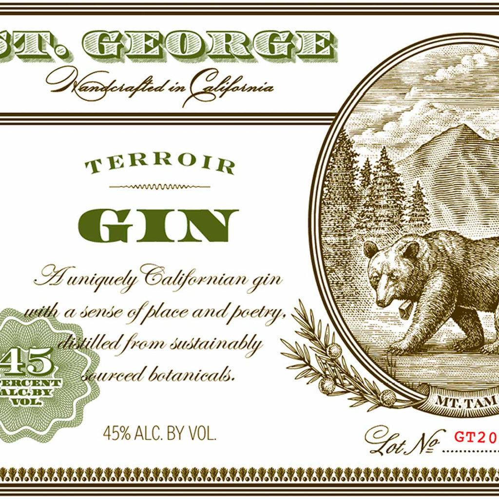 St. George Terroir Gin 750mL