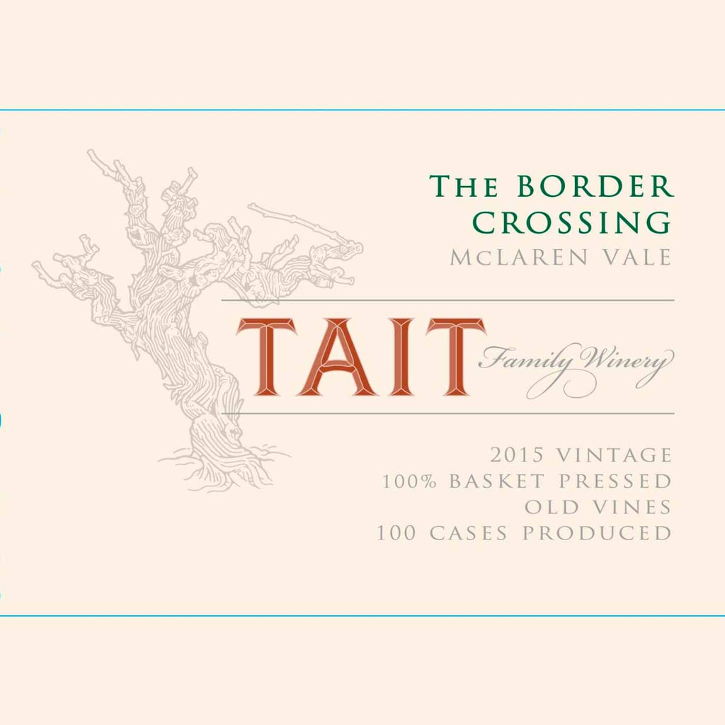 Tait 2015 The Border Crossing Shiraz
