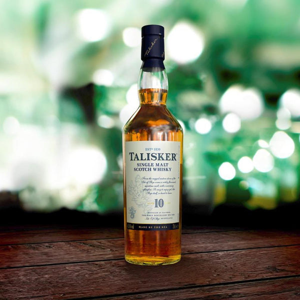 Talisker 10 Year Single Malt Scotch 750mL