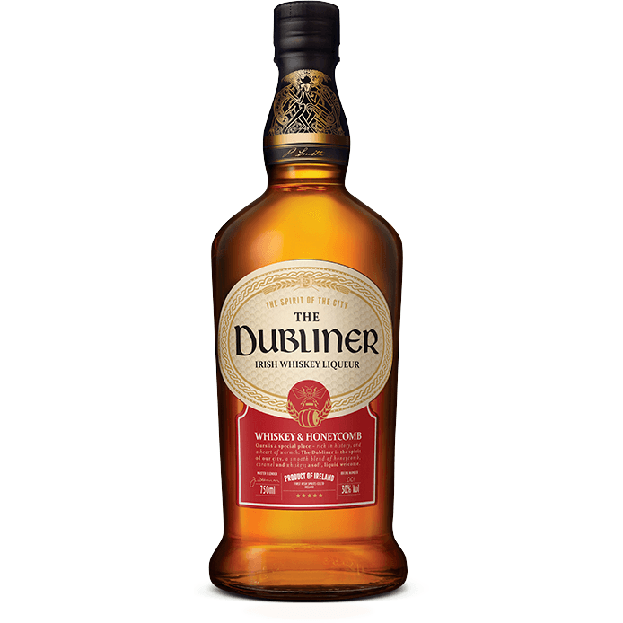The Dubliner Whiskey & Honeycomb Liqueur 750mL