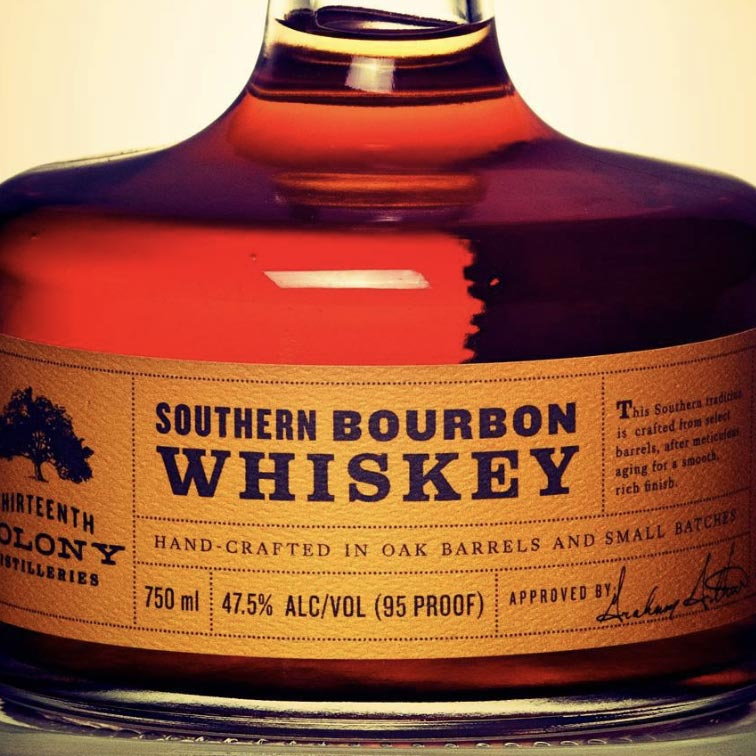 Thirteenth Colony Southern Bourbon 750mL