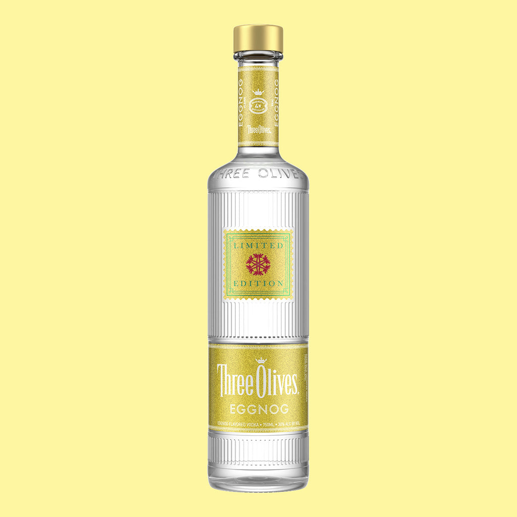 Three Olives Eggnog-Flavored Vodka 750mL