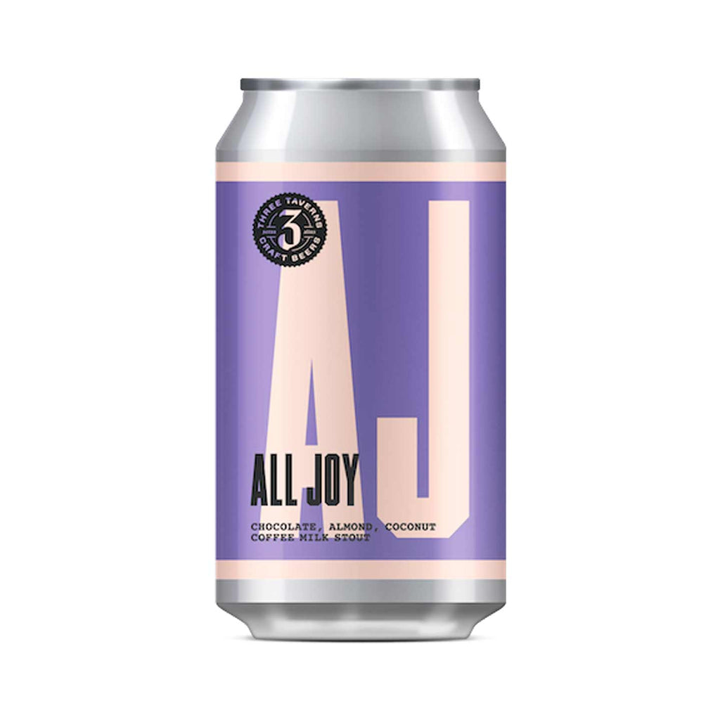 Three Taverns All Joy Imperial Coffee Milk Stout 4pk
