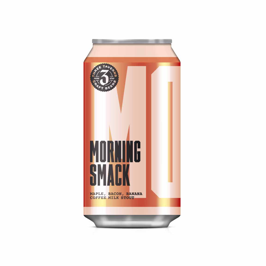 Three Taverns Morning Smack Maple Bacon Banana Coffee Milk Stout 4pk