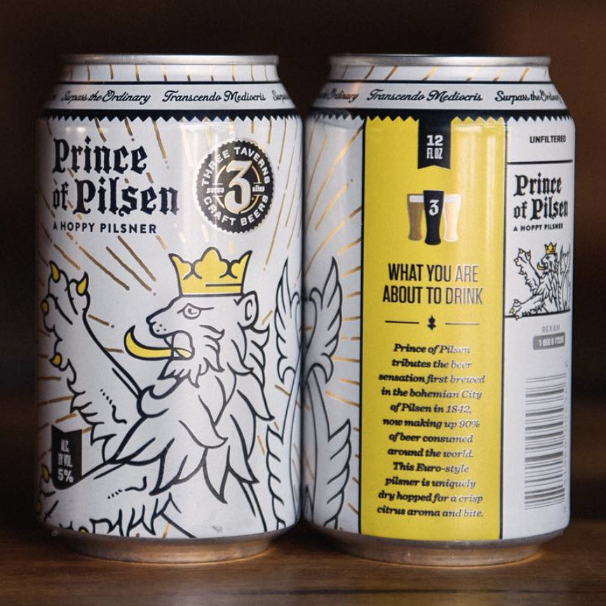 Three Taverns Prince of Pilsen 6pk