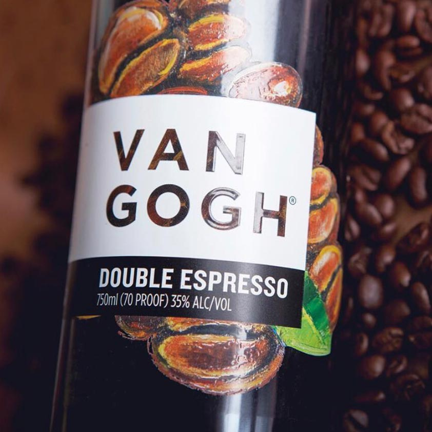 Van Gogh Double Espresso Vodka 750mL