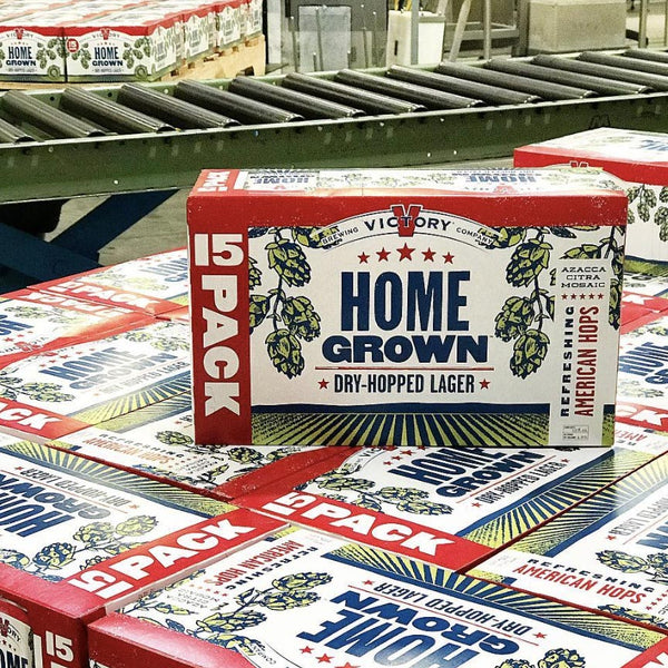 Victory Home Grown American Lager 15pk