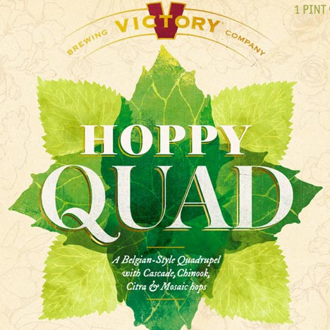 Victory Hoppy Quad 750mL