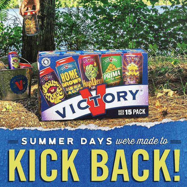 Victory Kick Back Variety Pack 15pk