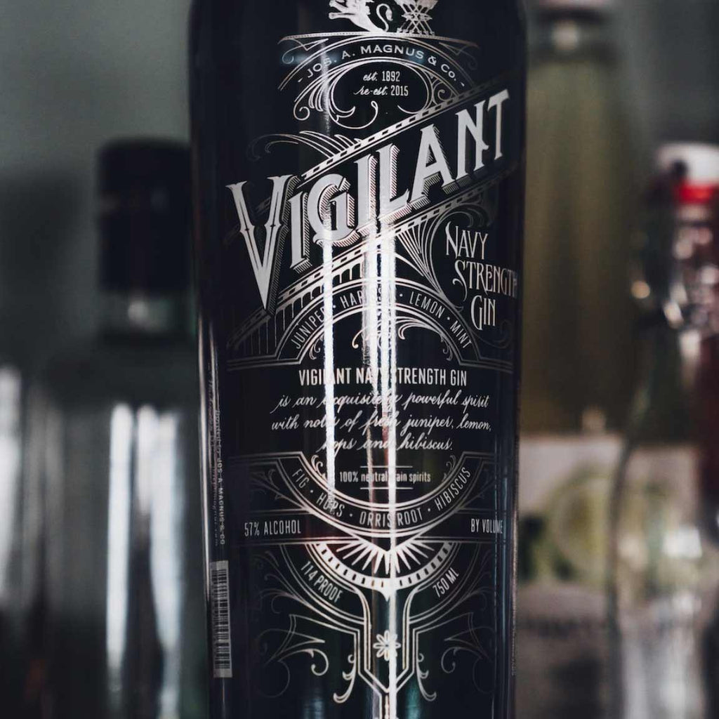 Vigilant Navy Strength Gin 750mL