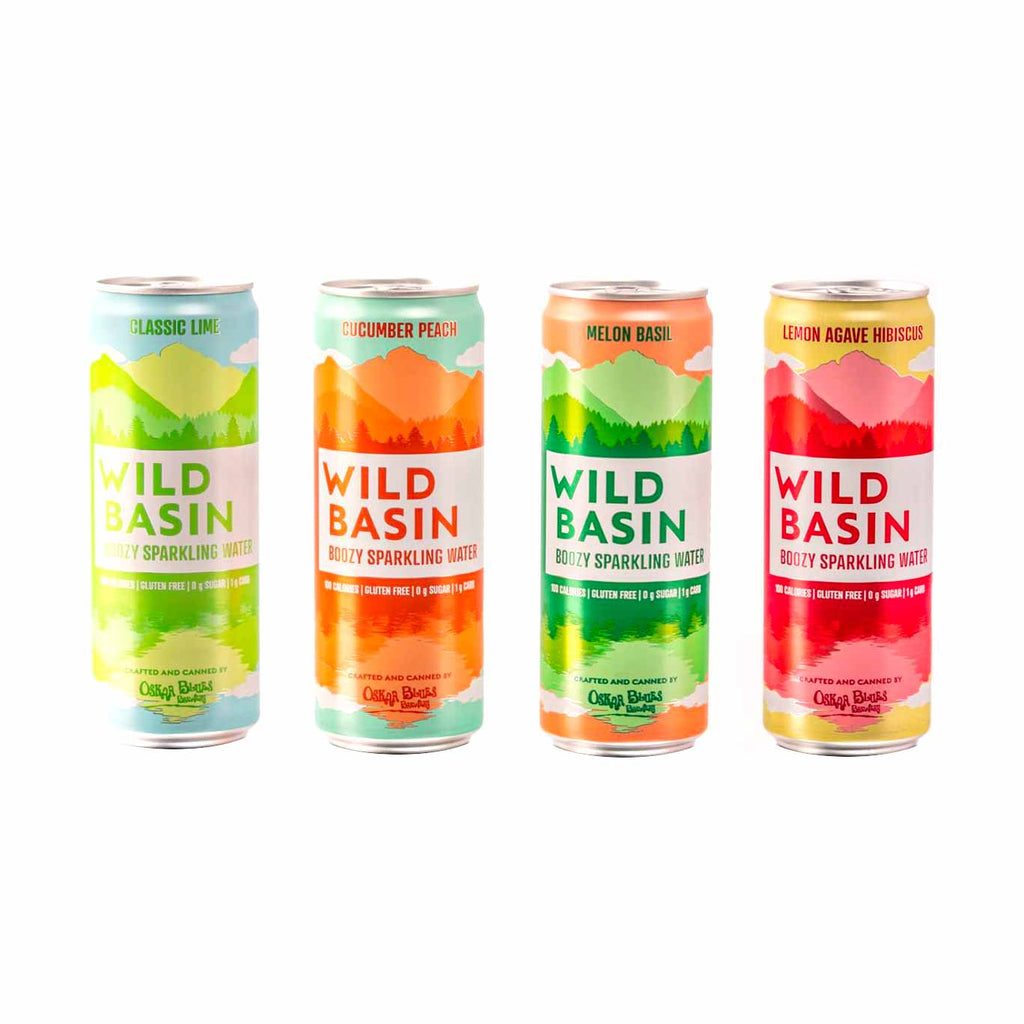 Wild Basin Boozy Sparkly Water Variety Pack by Oskar Blues 12pk