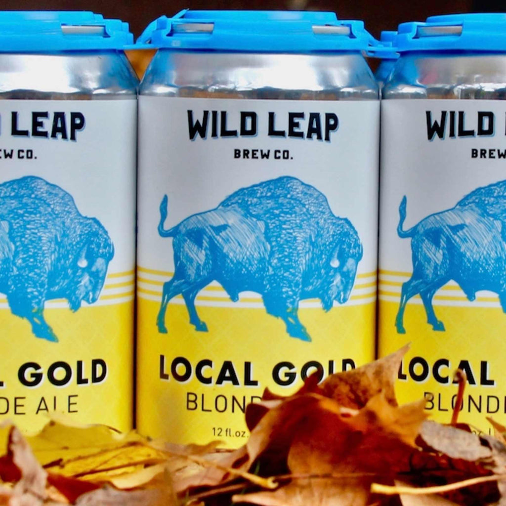 Wild Leap Local Gold Blonde Ale 6pk