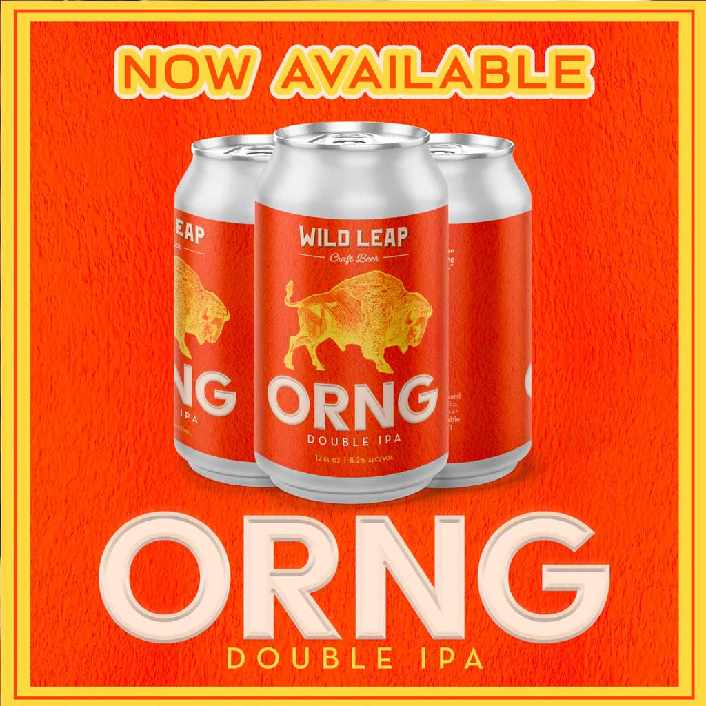 Wild Leap Chance ORNG Double IPA 6pk