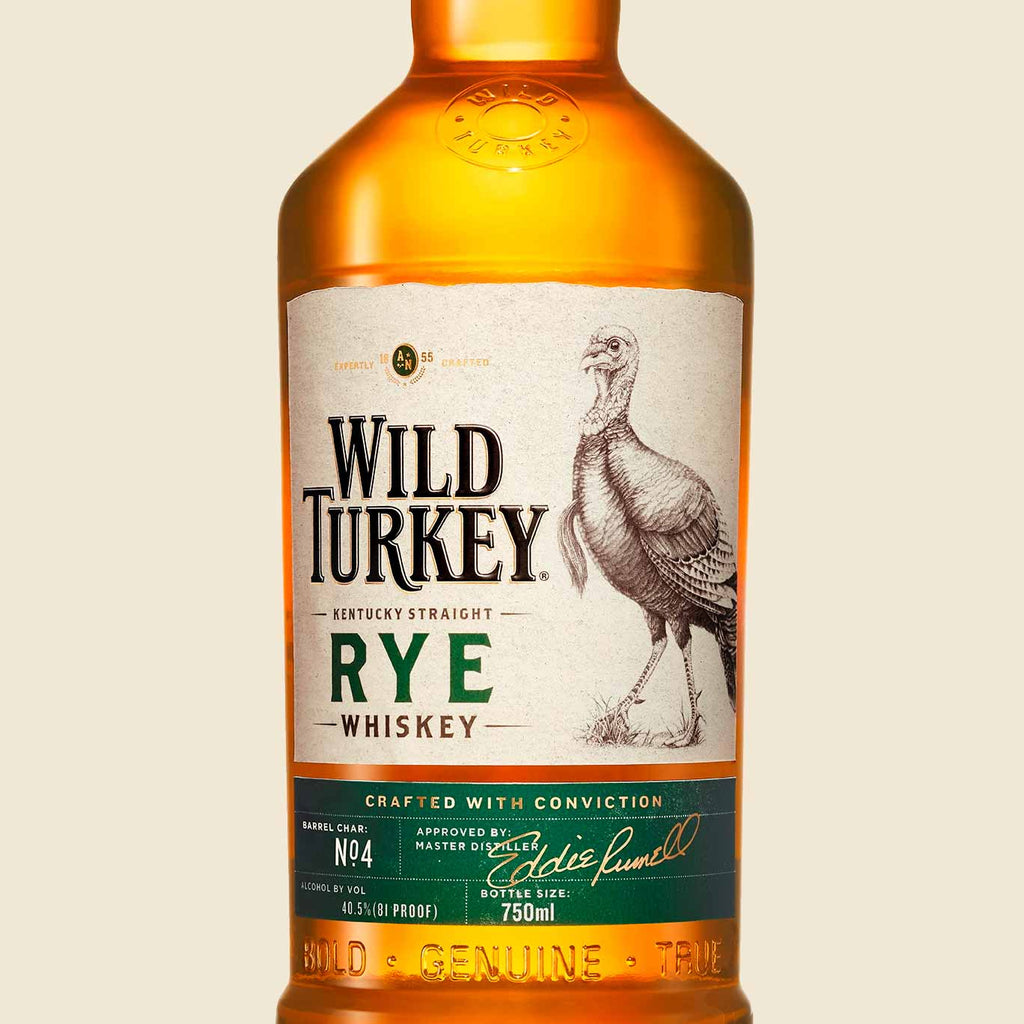 Wild Turkey Straight Rye Whiskey 750mL