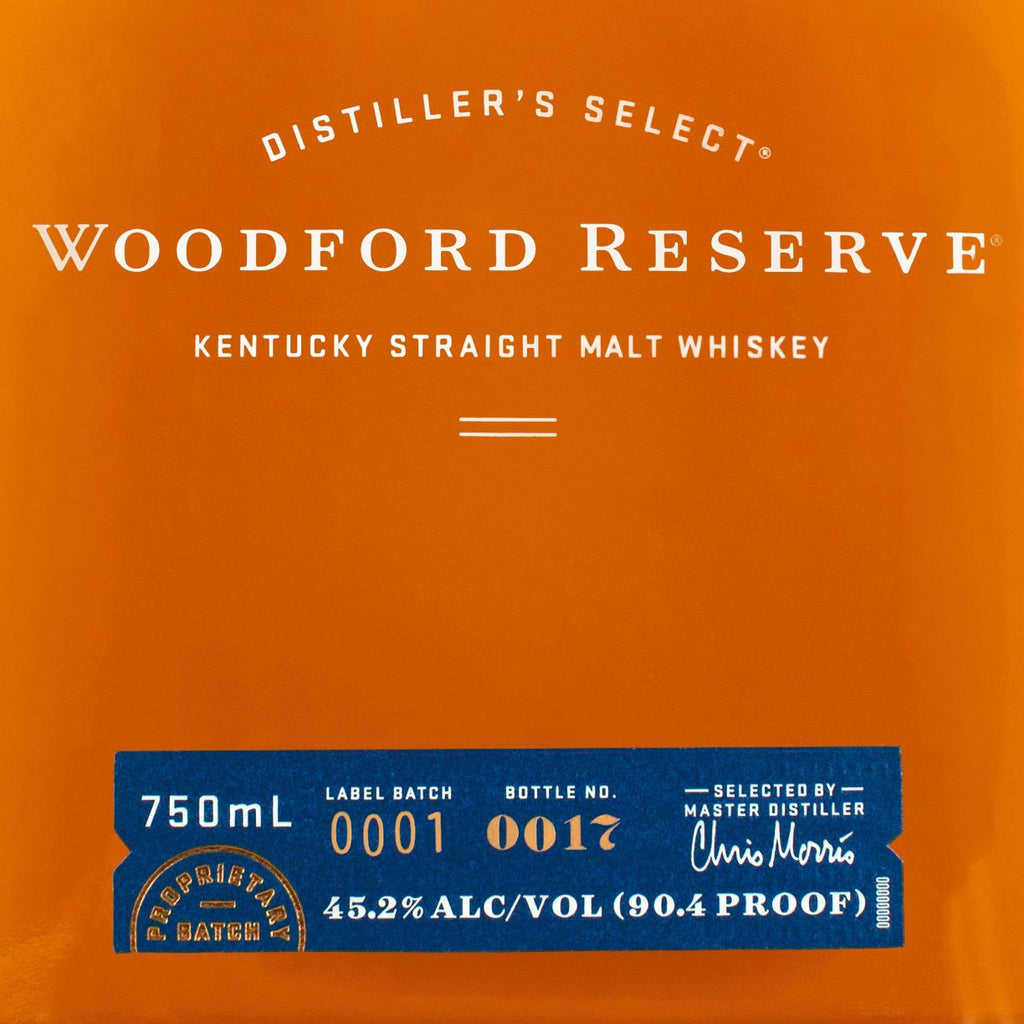 Woodford Reserve Straight Malt Whiskey 750mL