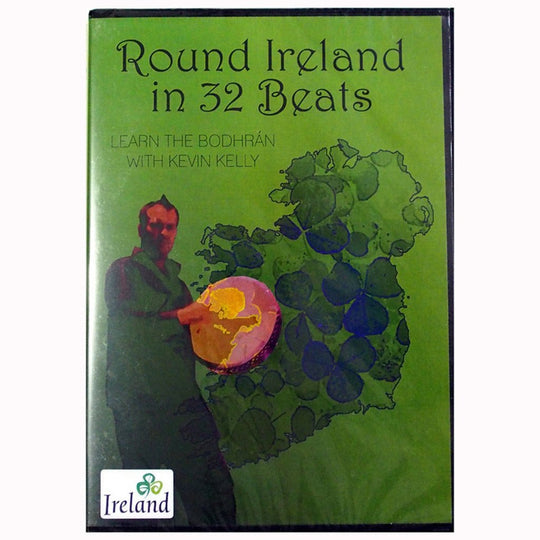 Round Ireland in 32 Beats - Learn the Bodhrán with Kevin Kelly