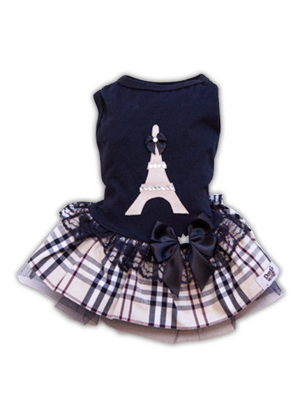 Black Dress Eiffel Tower