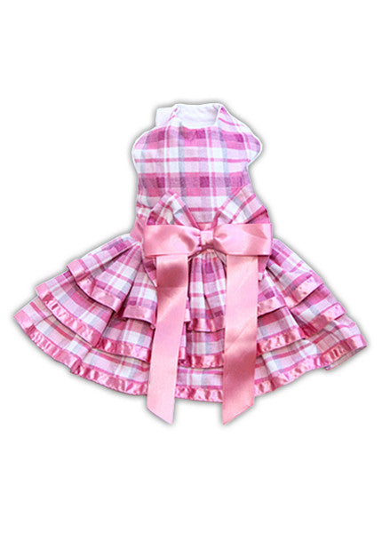 Plaid Pink Dress
