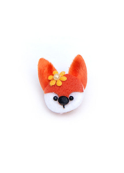 Fox Hair Bow