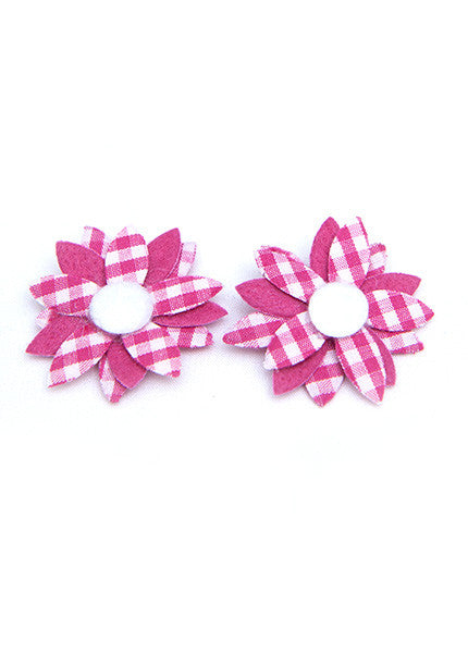 Daisy Hair Bow 2 Pack
