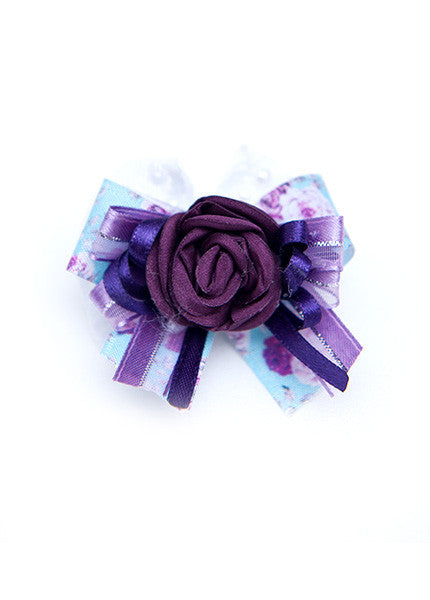 Purple Hair Bow
