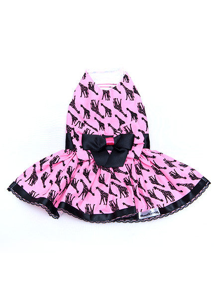 Pink Giraffe Dress