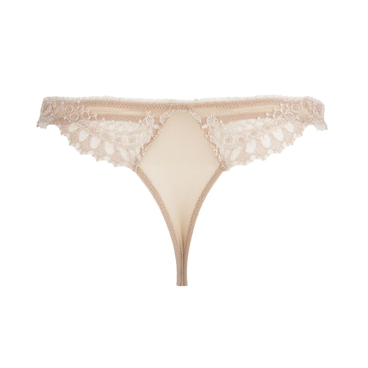 ECRIN GLAMOUR THONG IN NEUTRAL