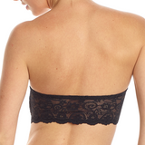 Double-take bandeau in black