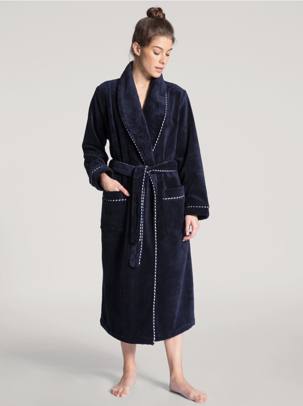 Plush Cotton Bathrobe