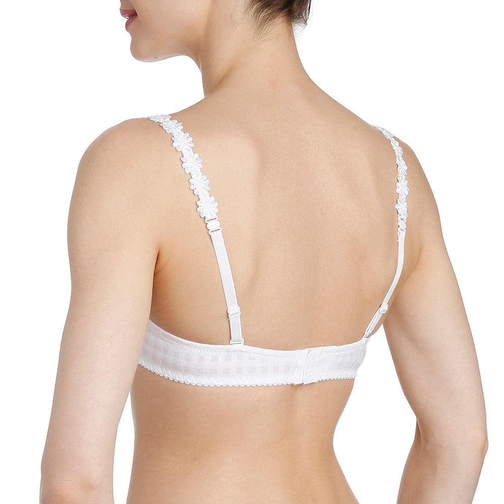 Marie Jo Avero Heart Shaped Bra White sold at Zema Lingerie