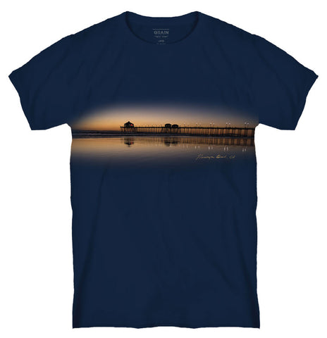 HB PIER EVENING GLASS TEE