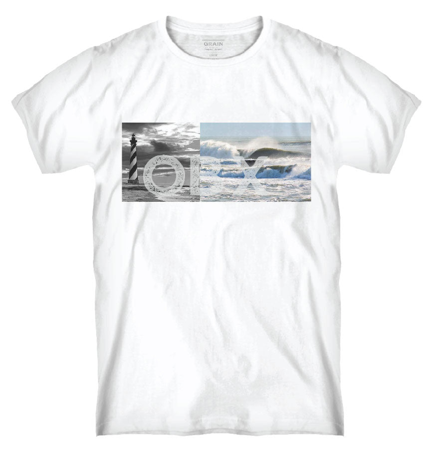 OBX LIGHTHOUSE TEE