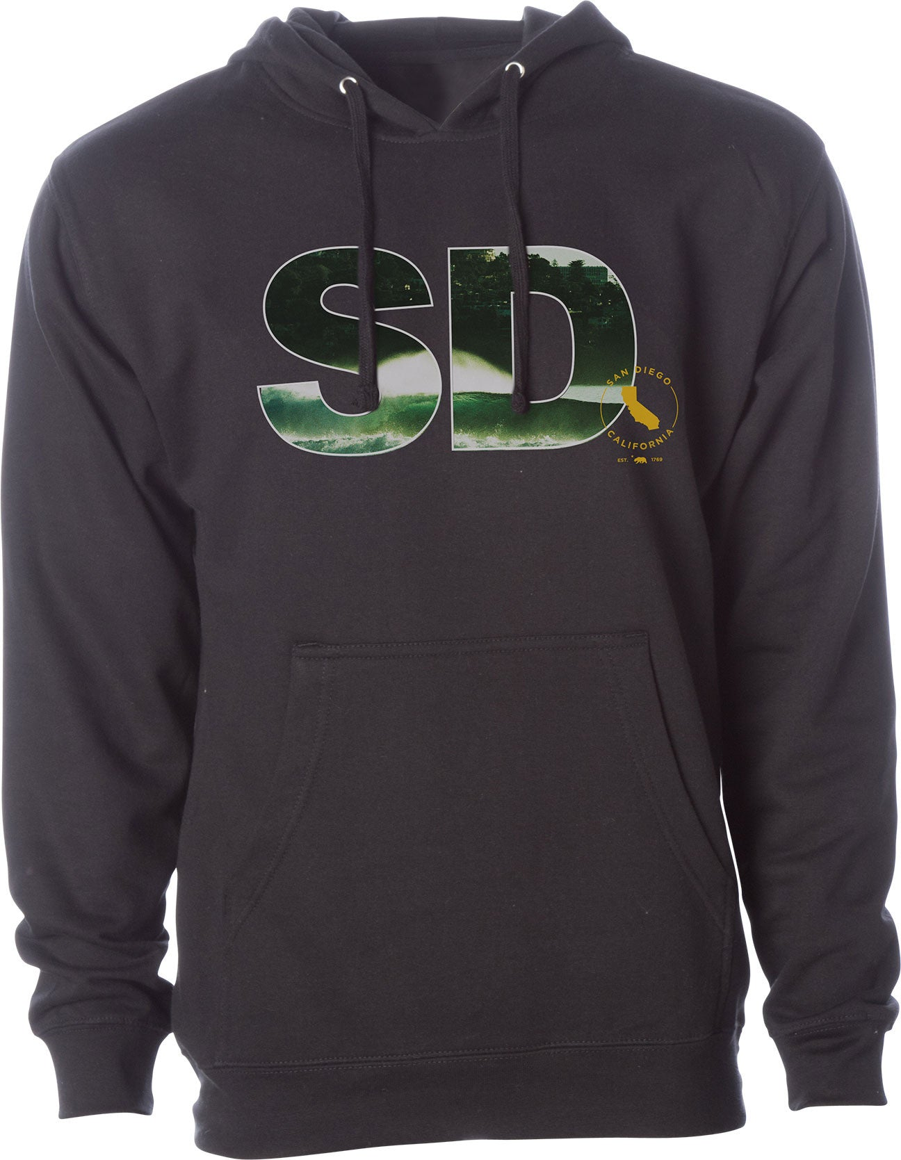 SD BLACKS HOODED P/O FLEECE