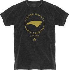 OUTER BANKS STAMP TEE