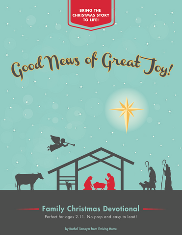 Good News of Great Joy: A Family Christmas Devotional