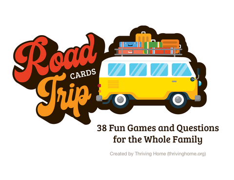 Road Trip Cards: 38 Fun Games and Questions for the Whole Family