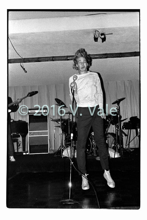 Photo print: Chip Kinman of the Dils