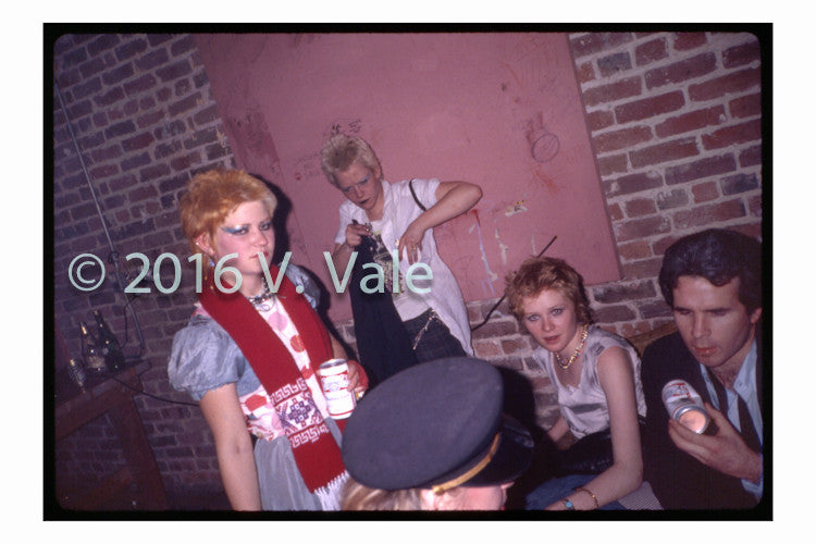 Photo print: Early punks at Target Video