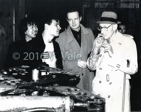 Photo print: William S Burroughs Birthday Party at SRL HQ