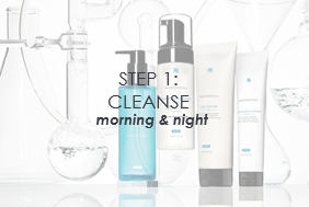 Cleansers (morning & night)