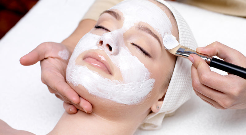 Deep pore cleaning facial