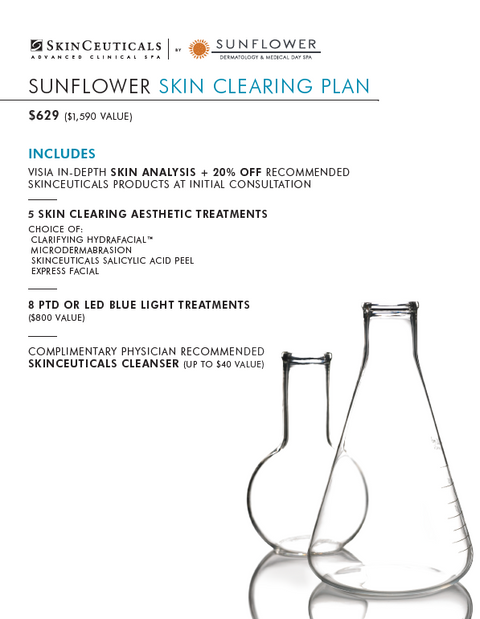 Skin Clearing Treatment Plan