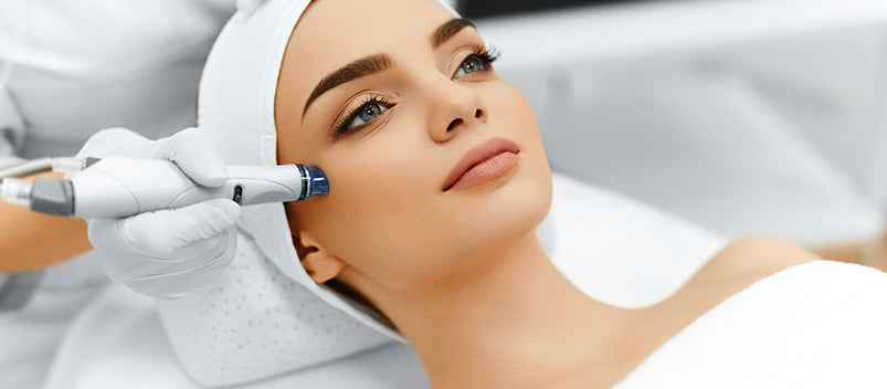 Microdermabrasion Exfolating Treatment